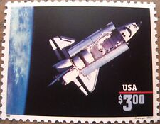 Space Shuttle Challenger Scott's 2544 MNH One (1) Mint $3.00 Stamp Dated 1995