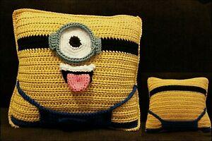 Crochet Minion Cushion