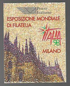 REPUBBLICA ITALIANA  1996 LIBRETTO ITALIA '98  MNH**