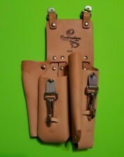 Buckingham 4 Pocket Double Back Holster with (2) 2-Way Knife Snaps, Tool Pouch