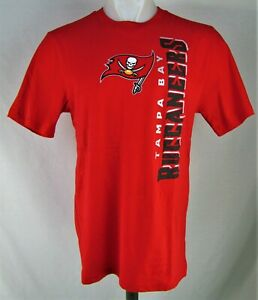 Tampa Bay Buccaneers NFL Team Apparel Boy's Red Short Sleeve T-Shirt