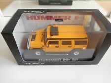 Norev Hummer H2 SUV in Yellow on 1:43 in Box