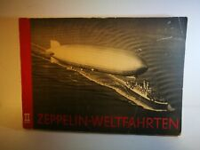 German WW2 Zeppelin Cigarette 155 Photo Album Blimp Airship Graf - FULL ALBUM