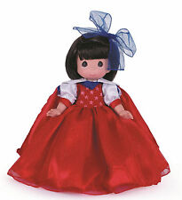 """Precious Moments 12"""" Collector Doll Freedom 4th Of July Snow White Disneyworld"""