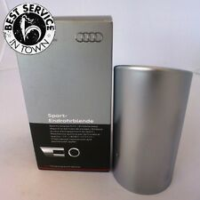 Original Audi A1 A3 Sport- Endrohrblende 1 Flutig 8P0071771A Alu matt - NEU -