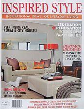 Inspired Style Magazine - Ideas For Everyday Living - 20% Bulk Magazine Discount