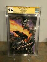 Dark Nights: Metal #1 CGC SS 9.6 Virgin Variant Cover  Signed by Tyler Kirkham