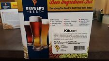 Brewers Best Kolsch 5 Gallon Beer Ingredient Kit Home Brewing Kit