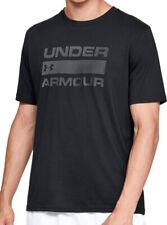 Under Armour Mens Ua Team Issue Wordmark T Shirt Loose HeatGear Black Small Nwot