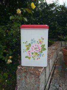 Cath Kidston floral metal tin