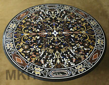 Marble Table Mosaic Center Tables Pietradura Inlay Craft Work Marquetry