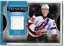 """PATRIK ELIAS autographed '15/16 NJ NEW JERSEY DEVILS """"Artifacts"""" JERSEY card"""
