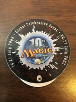 10th Anniversary Life Counter // MTG Magic the Gathering // See Picture