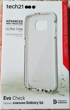 Tech21 Evo Check Case For Samsung Galaxy S6 Transparent - Retail Package - Clear