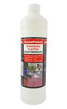 Terrassenplatten Kraftreiniger 1 Liter Ausblühungen Zementreste Kalkablagerungen