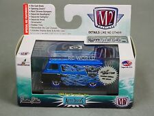 1/64 M2 Machines 1965 FORD ECONOLINE Van Blue Flames TOYCON LIMITED 1/492  #n2