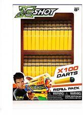 X Shot 100 Zuru Excels Darts Bullet Refill Pack Kids Play Set Toy New Sealed