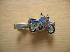 Pince à cravate SUZUKI SV 650 SV650 bleu art. 0733 moto Moto