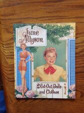 June Allyson Paper Doll Book B Shackman, Excellent condition