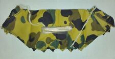 "ONE MAN CAMO TENT WITH WOOD POLES & STAKES FOR 12"" INCH GI JOE FIGURE!"