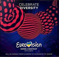 EUROVISION SONG CONTEST 2017 2 CD (KYIV, UKRAINE) - (28th APRIL 2017)
