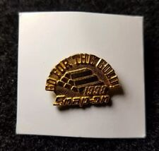 1998 Tie Tack Hat Lapel Pin Mint Vintage Snap On Tools Go For The Gold