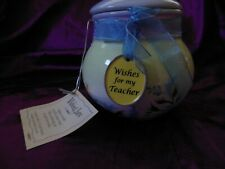 Teacher Wishing Jar w/12 Wish Cards - New
