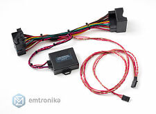 Plug and play BMW F10 F20 F30 F25 NBT EVO retrofit navi adapter emulator touch