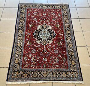 Orient Teppich Ghom Kork 155 X 107 cm Perserteppich Orientteppich Carpet Rug
