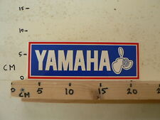 STICKER,DECAL YAMAHA PROPELLER BOAT ENGINE SHIP BOOT LARGE  23 CM