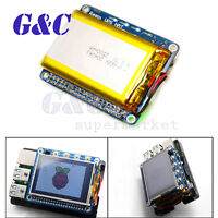 UPS HAT Board  2500mAh Lithium Battery For Raspberry Pi 3 Model B/Pi 2B/B+/A+