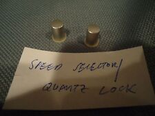Pioneer PL-630 Stereo Turntable  Quartz/Speed Selector Switch cover (1 only)