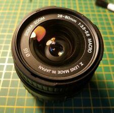 Sigma Zoom 28-80mm 3.5-5.6 Pentax Mount Autofocus Lense