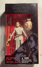 Hasbro Star Wars The Black Series 6-Inch Rey (Jakku) & BB-8 Action Figure
