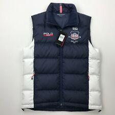 NWT Polo RALPH LAUREN Sport Team USA Down Feathers Vest Size Medium