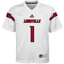 Louisville Cardinals NCAA adidas Boys Replica Football Jersey, Large (14-16) NWT