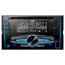 JVC 2-din cd/mp3/usb coche radioset para Renault Megane 2 - 02-12/08