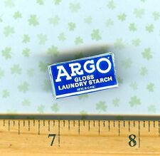 Dollhouse Miniature size ARGO Laundry Starch Box
