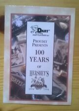 Hersheys Trading Cards The Collector's Series 100 Cards Dart Flipcards