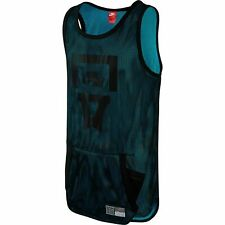 Nike Air Pivot Mesh Men's Jersey Tank Top Black-Omega Blue 743286-013