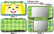 Animal Crossing Happy Home Designer Skin Sticker Cover Decal #2 for NEW 2DS XL