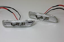 98-01 BMW E46 Sedan / 99-03 BMW E46 Coupe Clear LED Side Marker Lights INDICATOR
