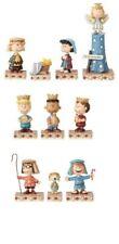 Jim Shore Peanuts Christmas Pageant 10-Piece Figure Figurine Set New Snoopy+