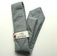 M&S Mens Tie Grey Hand Finished BNWT Marks Best of British