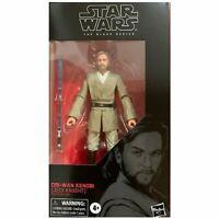 Star Wars The Black Series Obi-Wan Kenobi (AOTC) 6 Inch Action Figure