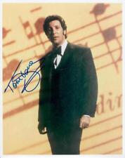 Original Autogramm Tom Jones, Echtfoto 20x25cm