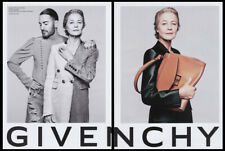 Charlotte Rampling, Marc Jacobs 2-page clipping 2020 ad for Givenchy