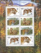 Russia 1993,Miniature Sheet Siberian Tigers or Ussuri,Sc 6181b,Vf Mnh* !