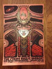 String Cheese Incident Art Print Poster Jeff Wood Signed 13/32 Venom Variant