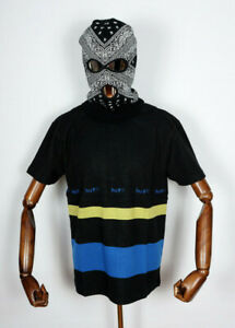 Huf Worldwide Skateboard T-Shirt Tee Ellis YDS Knit Top Black in M